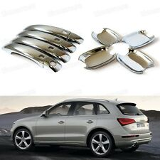 Chrome Outer Side Car Door Handle Cover Trim Modelling Fit for Audi Q5 2009-2014