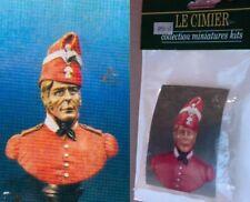 o Le Cimier BUSTO Scala 1/10 - Guerre Napoleoniche- Francese in bonnet de police