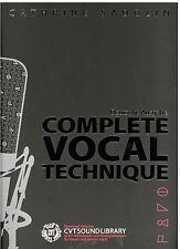 Catherine sadolin-COMPLETE vocal technique -- édition allemande