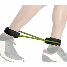 Resistance Bands Tube CUFF Thigh Workout Medium Ankle Tubing XLIGHT Yoga 9547-Y