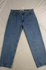 Levi 550 Relaxed Fit Faded Color Denim Jeans Tag Size 40x32 Measure 38x31