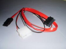 VCOM CE361 SATA2 Data + 4Pin Molex Male to SATA Power/Data Cable for Slim DVD