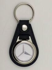 """Porte Clés Luxe Rond avec Jeton de Caddie Logo """" Mercedes-Benz """" Actuel"""