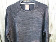 Men's Nike Tech Knit Crew Neck Sweat Black Long Sleeve Size 3XL 728673 010