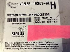 ACTIVATED,READ! VISTEON VP2L5F Ford/Lincoln/Mercury Used Factory Sirius Tuner