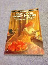 Best-Loved Short Stories - Dover Large Print Classics - By Evan Bates Paperback