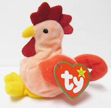 Ty Teenie Beanie Baby Strut TINY Rooster MINT PRISTINE New in CLOSED bubble pack