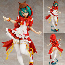 hatsune miku cos little red girl pvc figure collection figures gift toys new