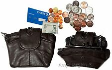 Lot of 2 Women's Expendable Change Purse, Coin case, Mini Wallet, card case BNWT