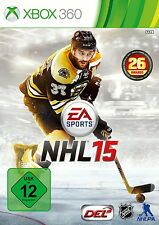 XBOX 360 Spiel Electronic Arts NHL 15 ohne Anleitung guter Zustand + OVP