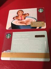"Starbucks 2016 holidays christmas ""Ginger bread "" gift card"