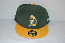 New $35 New Era 59Fifty Green Bay Packers NFL Historic Hat 7 7/8 RARE