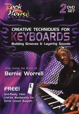 Creative Techniques For Keyboards Building Grooves Layering Sounds Music DVD