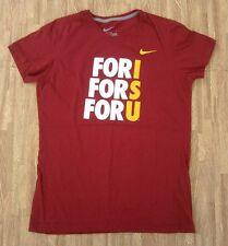 Iowa State Cyclones Nike For ISU Ladies' Shirt ~ Women's XL Slim ~ Red Burgundy