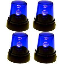 4x Signallampe Blau Rundumlicht Partylicht Discolampe Diskolampe Partyleuchte