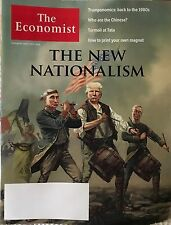 TRUMP - THE NEW NATIONALISM - UK ECONOMIST MAGAZINE NOVEMBER 2016 No Label Putin