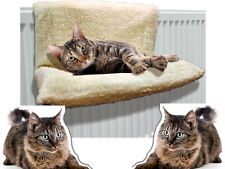 COSY CAT DOG RADIATOR BED WARM FLEECE BASKET CRADLE HAMMOCK ANIMAL PUPPY PET