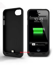 COVER PER IPHONE 5 5S BATTERIA AGGIUNTIVA 2200 MAH BATTERY POWER BANK CASE LED