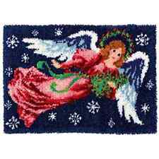 Angel Latch Hook Rug Kit Large size - *NEW* everything included
