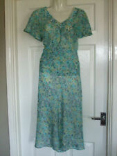SIZE 14 Mother of Bride SKIRT + TOP Set Womens Party Summer Ladies Occasion Work