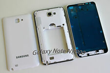 Replacement Samsung Galaxy Note i9220 N7000 Full Housing Cover Frame Door White