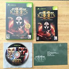 Star Wars Knights of the Old Republic II: The Sith Lords Xbox Complete Game 2