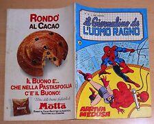 ED.CORNO SERIE  IL GIORNALINO DELL'UOMO RAGNO  N° 15  1981  !!!!!