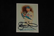 RYAN DEMPSTER 2010 TOPPS ALLEN & GINTER'S SIGNED AUTOGRAPHED CARD #258 CUBS