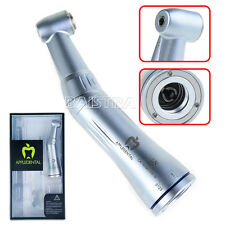 Dental NSK Style Inner Water Spray Contra Angle Push Low Speed Handpiece GOLD-CA
