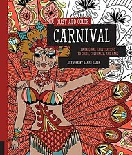 Just Add Color: Carnival: by Sarah Walsh (Paperback) NEW