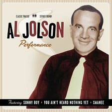 PERFORMANCE 1932-1949 - JOLSON,AL [CD NEW]