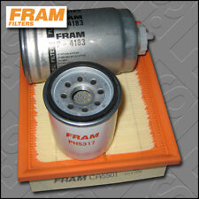 SERVICE KIT VAUXHALL COMBO A 1.7 D FRAM OIL AIR FUEL FILTERS (1994-2001)
