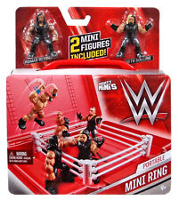 WWE Wrestling Mighty Minis Portable Mini Ring Playset
