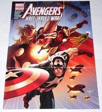 Avengers Kree-Skrull War Variant Cover (V1-V9) cards 9 card set by Upper Deck