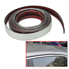 Durable 3m Silver Car Chrome Styling Decoration Moulding Trim Strip Tape 22mm