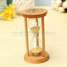 Frame Cute Sand Glass Sandglass Hourglass Timer Clock Time Decor Gift 3 Minutes