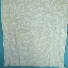 "Bedspread / Tablecloth ,Mexican Textile, Otomi fabric 100% cotton 74"" x 66"" # 39"