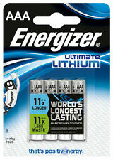 8x ENERGIZER ULTIMATE LITHIUM AAA BATTERIEN MN2400 LR03 MICRO OVP - NEU