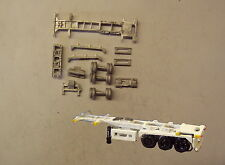 P&D Marsh N Gauge N Scale MV231 30ft Skeletal trailer (3) kit requires painting