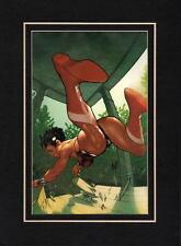 WONDER WOMAN 193 COVER PROFESSIONALLY MATTED PRINT Frame Ready DC Adam Hughes