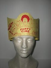 Original 1990's Ronald McDonald and Friends Party Time Hat
