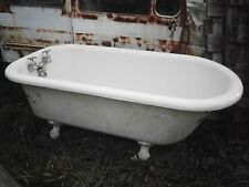 Antique Vintage Claw Foot Tub 5 ft - Super Clean
