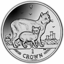Isle of Man 2012 Manx Cat Unc. CuNi Coin