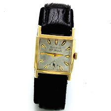 Vintage 23-Jewel Hand Wind Rolled Gold Plate Bulova Wrist Watch CA1963