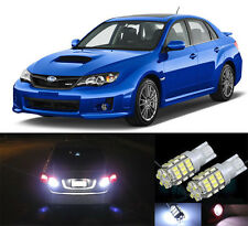Premium LED Reverse Backup Light Bulbs for 2002 - 2014 Subaru WRX STI T15 42SMD