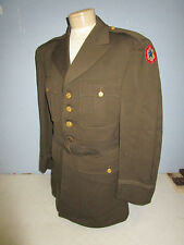 WWII US ARMY CORPS OF ENGINEER OFFICER DRESS TUNIC UNIFORM DATED 1942