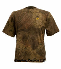 ScentBlocker Mens S/S Short Sleeve Cotton T-Shirt Size XL Mossy Oak Brush CSTBR