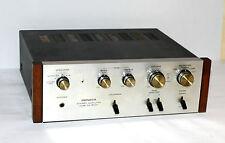 Pioneer SA-500A * Vintage Stereo Verstärker / Amplifier * Silber & Holz * 9245