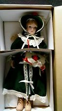 """Gorham Musical Doll """"JOELLE"""" Gifts of the Garden Collection -15"""" Limited Edition"""