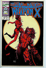 Marvel Comics Presents Weapon X Issue # 76 Comic 1991 nm/m Wolverine H7